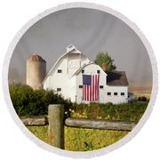Park City Barn Round Beach Towel