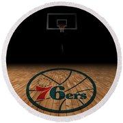 Philadelphia 76ers Round Beach Towel