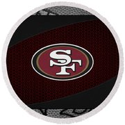 San Francisco 49ers Round Beach Towel