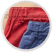 Trousers Round Beach Towel