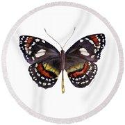 50 Elzunia Bonplandii Butterfly Round Beach Towel