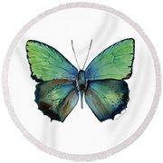52 Arhopala Aurea Butterfly Round Beach Towel