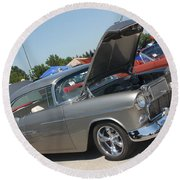 55 Bel Air-8206 Round Beach Towel