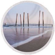 59th Street Round Beach Towel