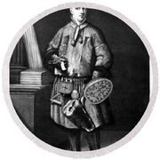 Carolus Linnaeus (1707-1778) Round Beach Towel