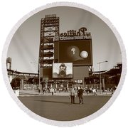 Citizens Bank Park - Philadelphia Phillies Round Beach Towel