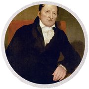 Eli Whitney (1765-1825) Round Beach Towel