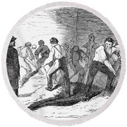Execution Of Conspirators Round Beach Towel