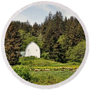 Hood River Round Beach Towel