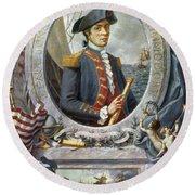 John Paul Jones (1747-1792) Round Beach Towel