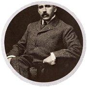 Leonard Wood (1860-1927) Round Beach Towel