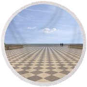 Livorno Round Beach Towel