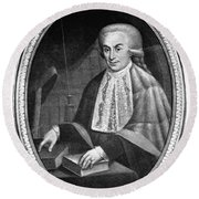 Luigi Galvani (1737-1798) Round Beach Towel