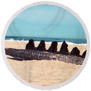6 Nuns Round Beach Towel