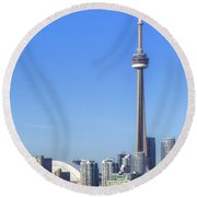 Toronto Round Beach Towel