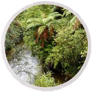 Tropical Forest Round Beach Towel