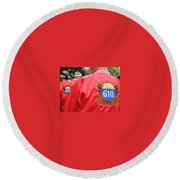 610 Stompers - New Orleans La Round Beach Towel