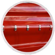 64 Red Comet Round Beach Towel