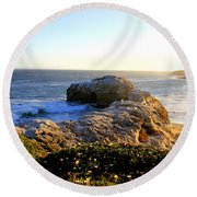 Untitled Round Beach Towel by Chiara Corsaro