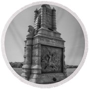 6th New York Cavalry  7d02260 Round Beach Towel