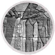 Cleopatra Vii (69-30 B.c.) Round Beach Towel