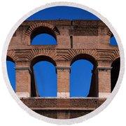 Colosseum Round Beach Towel