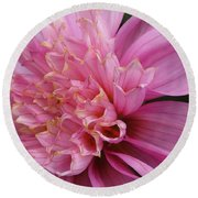 Dahlia Named Siemen Doorenbosch Round Beach Towel
