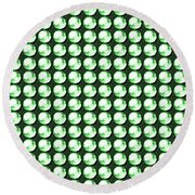 Diy Template Jewels Diamonds Pattern Graphic Sparkle Multipurpose Art Round Beach Towel by Navin Joshi