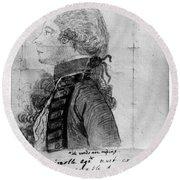 James Wolfe (1727-1759) Round Beach Towel