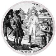 John Andre (1751-1780) Round Beach Towel