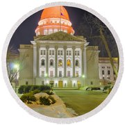 Madison Capitol Round Beach Towel by Steven Ralser