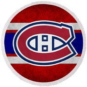 Montreal Canadiens Round Beach Towel