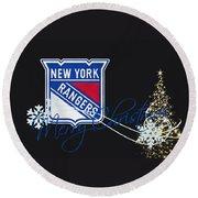 New York Rangers Round Beach Towel