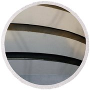 The Guggenheim  Round Beach Towel