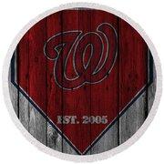 Washington Nationals Round Beach Towel