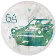 71 Vega Round Beach Towel