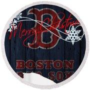 Boston Red Sox Round Beach Towel