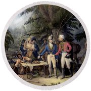 Francis Marion (1732?-1795) Round Beach Towel