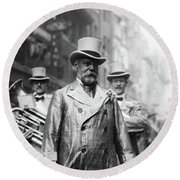 John Philip Sousa (1854-1932) Round Beach Towel