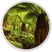 Jungle Round Beach Towel