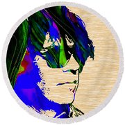 Neil Young Collection Round Beach Towel