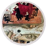 Sir Henry Unton (c1557-1596) Round Beach Towel