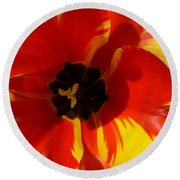 Tulip Round Beach Towel