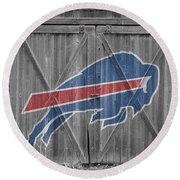Buffalo Bills Round Beach Towel by Joe Hamilton