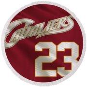 Cleveland Cavaliers Uniform Round Beach Towel