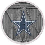 Dallas Cowboys Round Beach Towel