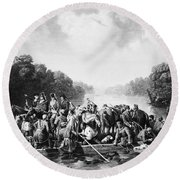 Francis Marion (1732?-1795) Round Beach Towel