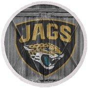 Jacksonville Jaguars Round Beach Towel