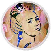 Miley Cyrus Collection Round Beach Towel