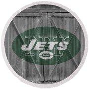 New York Jets Round Beach Towel